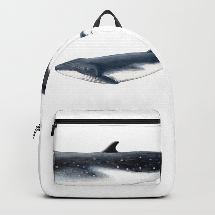 Bryde´s whale and baby whale Rucksack