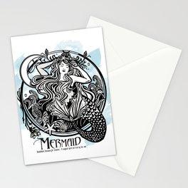 Mermaid Magic Stationery Cards