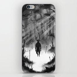 I Speak for the Trees iPhone Skin
