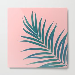 Tropical Palm Leaf #3 #botanical #decor #art #society6 Metal Print