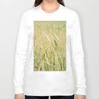 grass Long Sleeve T-shirts featuring Grass by Yolanda Méndez