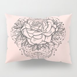 Night Rose Pillow Sham