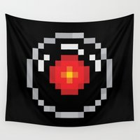 2001 Wall Tapestries featuring 2001: A Pixel Odyssey by Eric A. Palmer