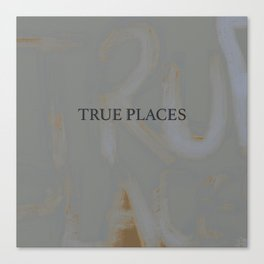 true places graffiti 2 Canvas Print