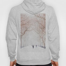 The Tree Path in Snow (Color) Hoody