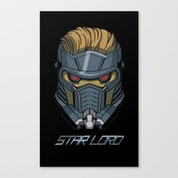 star lord Canvas Prints featuring Star Lord by Toraneko