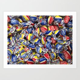 Candies 6 Art Print