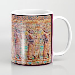 Persian Soldiers Marching Uphill to Oblivion Coffee Mug
