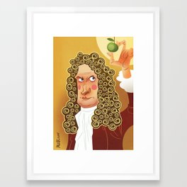 Newton Framed Art Print