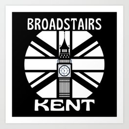 Broadstairs Kent  United Kingdom Big Ben Art Print