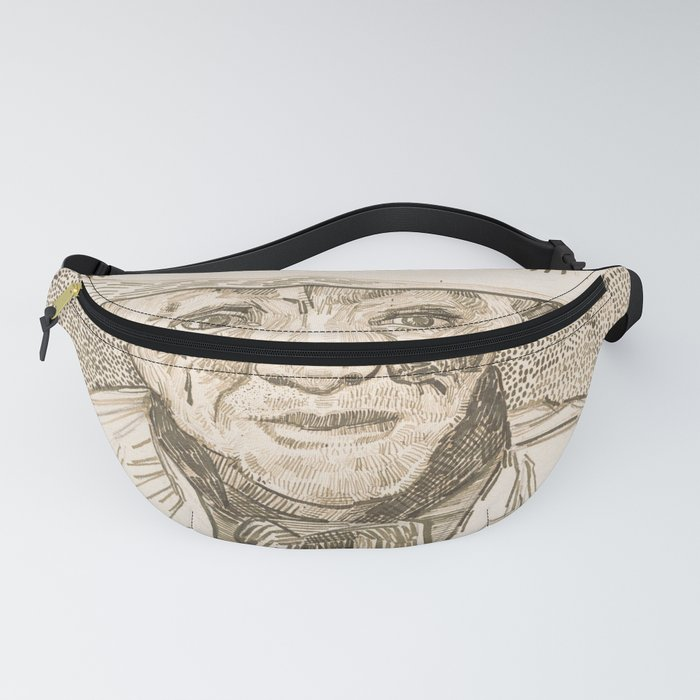 Vincent van Gogh - Peasant of the Camargue (1888) Fanny Pack