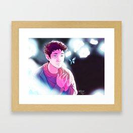 Gewyre an lif Framed Art Print