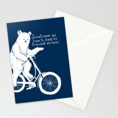 Listen to the Bear Stationery Cards