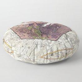 Windbreak Mountain Floor Pillow
