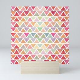 Lovely geometric Pattern III Mini Art Print