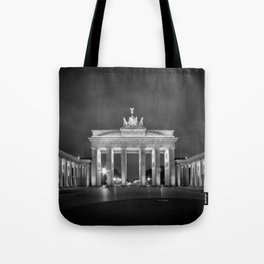 BERLIN Brandenburg Gate   monochrome Tote Bag