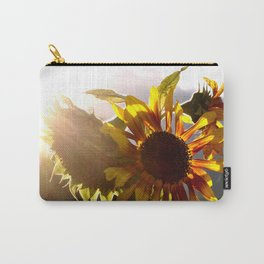 salute to the Sun as a sunflower Carry-All Pouch