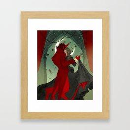 Dance with the Devil Framed Art Print