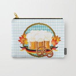 Beer, Pretzel, Oktoberfest! Carry-All Pouch