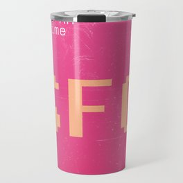 SFO San Francisco airport tag Travel Mug