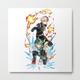 boku no my hero academia Metal Print