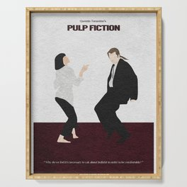 Pulp Fiction Serving Tray