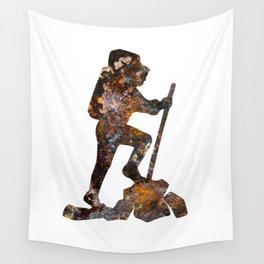 Hiker  Wall Tapestry