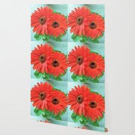 Gerbera Daisies Wallpaper