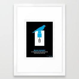 TMBG - Blue Canary Framed Art Print