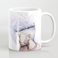 zayn Mugs featuring Smokey Zayn by Aki-anyway