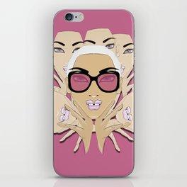 GirlZ Pink iPhone Skin