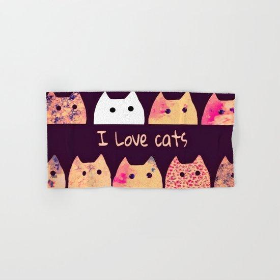 cat-887 Hand & Bath Towel
