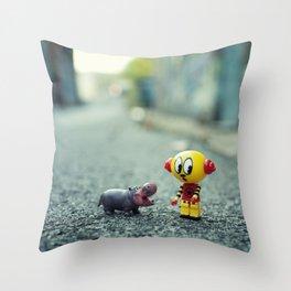 HI!! I told you i don't want a pet!! Throw Pillow