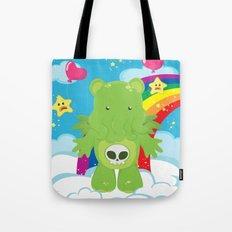 Cthulhu Care Bear Tote Bag