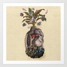 Transgenic Pineapple  Art Print