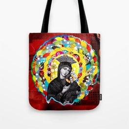 Nossa Senhora do Perpétuo Socorro (Our Lady of Perpetual Help) Tote Bag