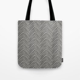 chevron painted Tote Bag