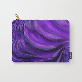 Purple Drapes Carry-All Pouch