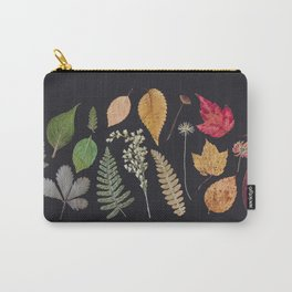 Plants + Leaves Carry-All Pouch