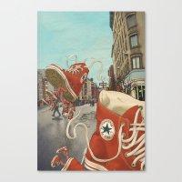 kozyndan Canvas Prints featuring Runaways by kozyndan