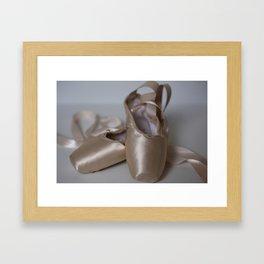 First Pointe Framed Art Print