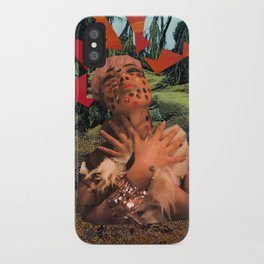 Lady Lightning iPhone Case