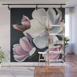 Magnolia Blooms Wall Mural