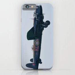 Lancaster on approach iPhone Case