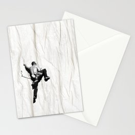 Climbing a Wrinkle Stationery Cards