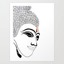 Buddha XI Art Print