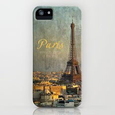 I love Paris iPhone (5, 5s) Slim Case