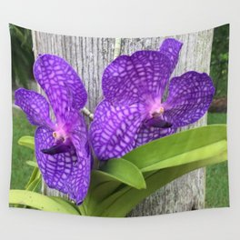 Tree Orchid Wall Tapestry