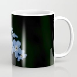 Blue within black Coffee Mug