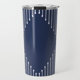 Geo / Navy Travel Mug